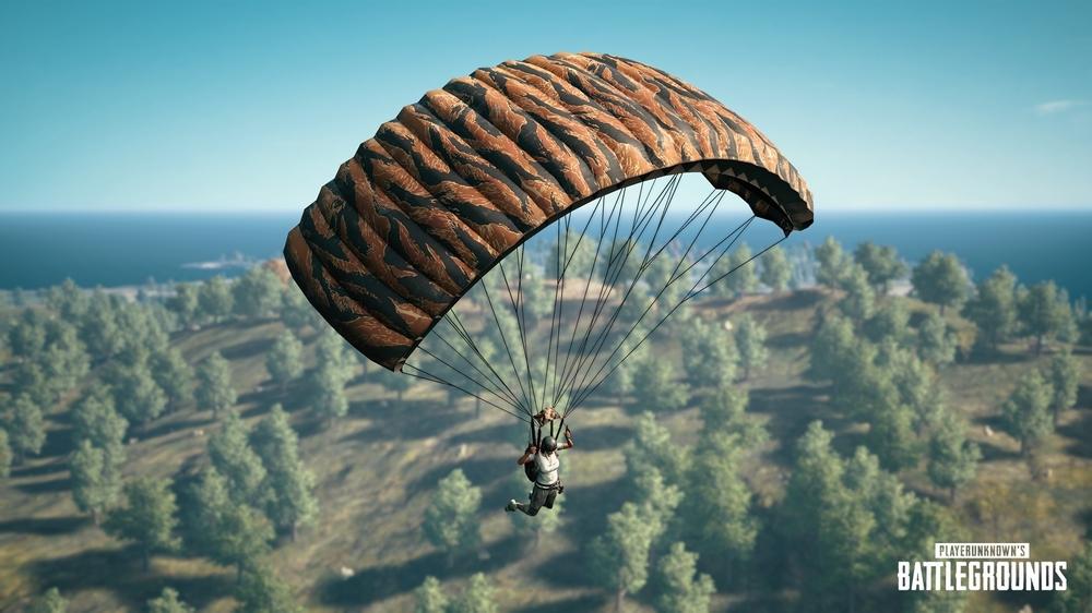 pubg yeni paraşüt