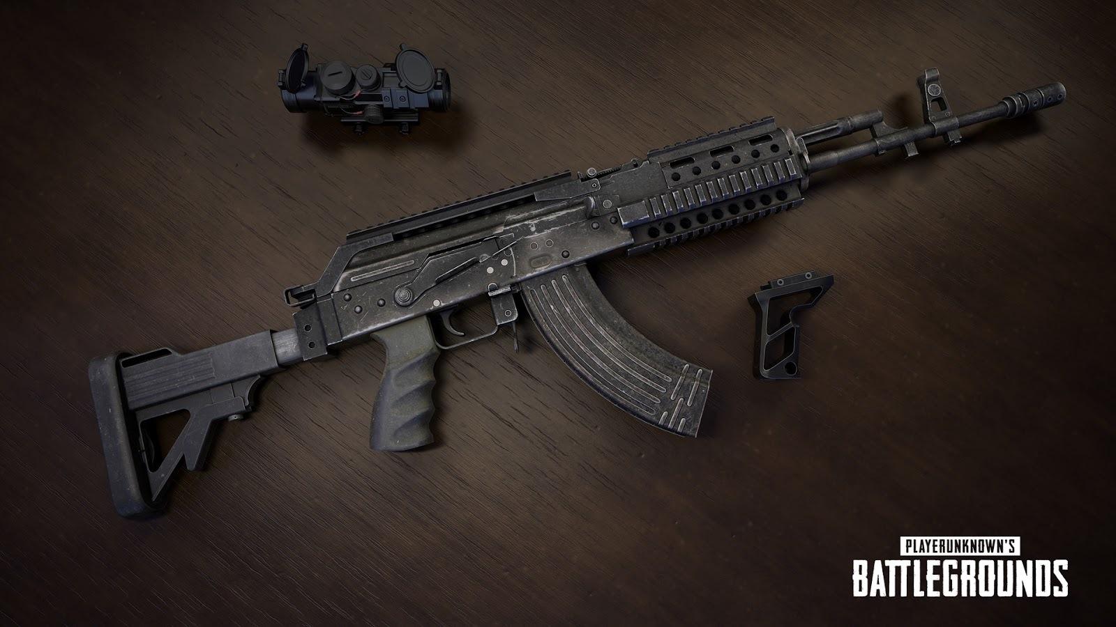 pubg yeni silah