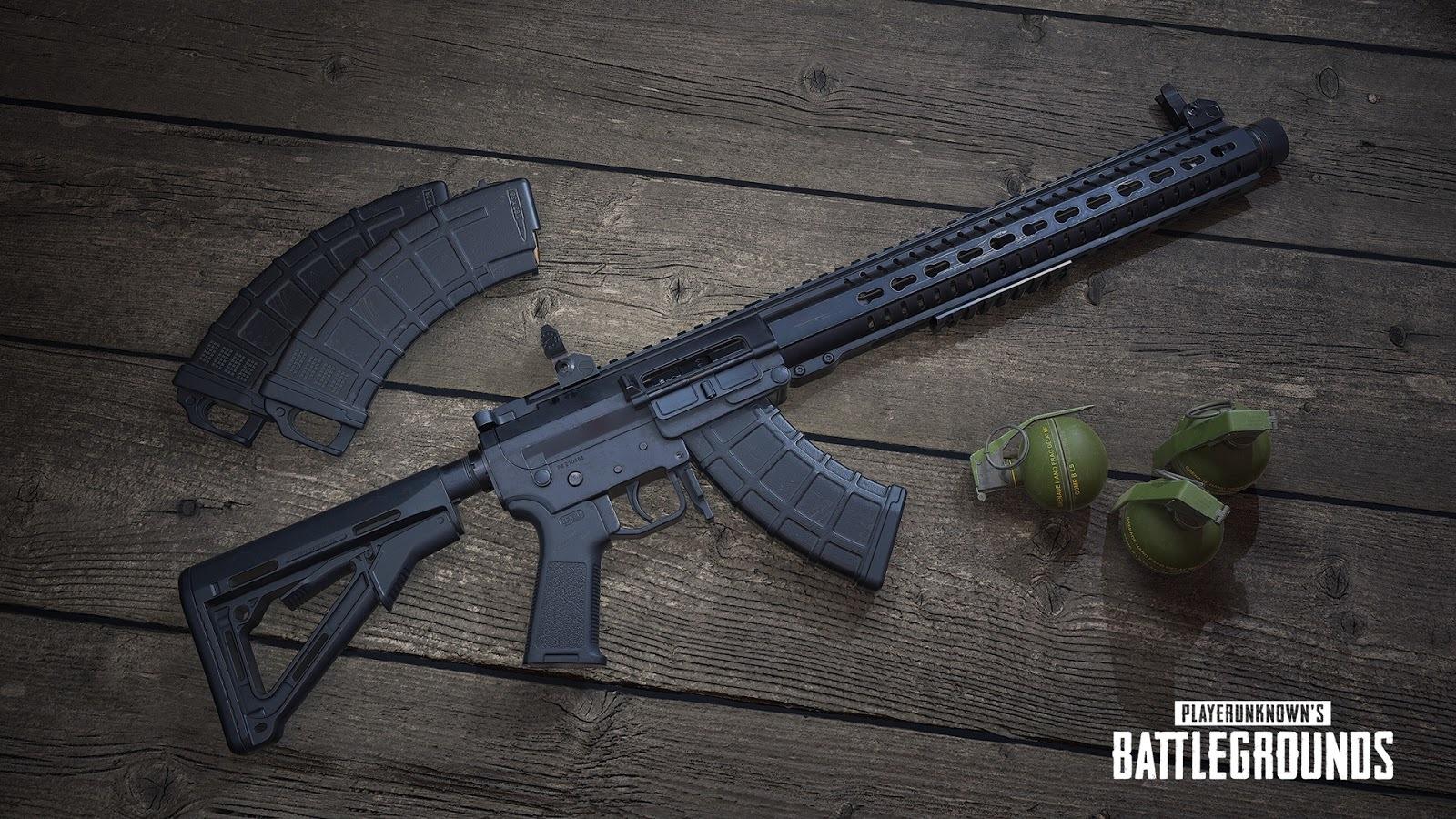 pubg yeni silah mk47