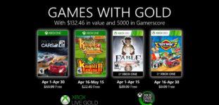 Xbox Live Gold İle Nisan 2020 Oyunlarını Kapın!