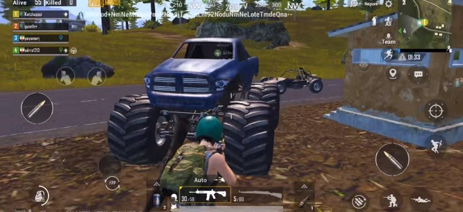 pubg mobile yeni araba
