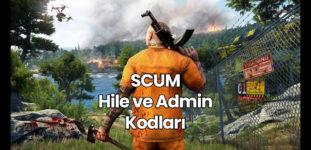 SCUM Hile Kodları – Admin Kodları