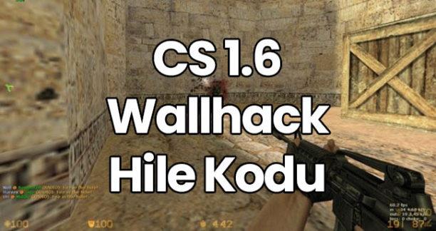 CS 1.6 Wall Hack Kodu