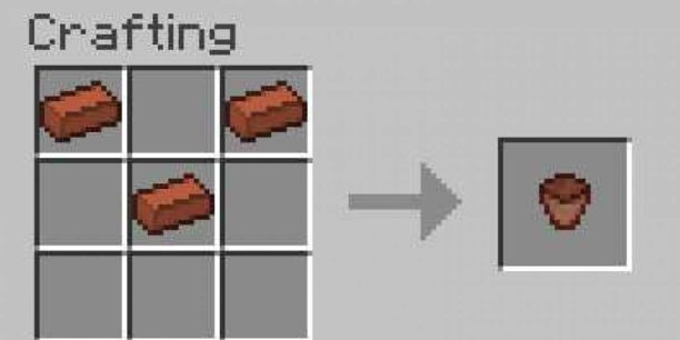 Minecraft Saksı Yapımı